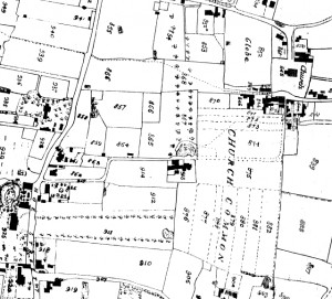 ORFORD HOUSE MAP 1822