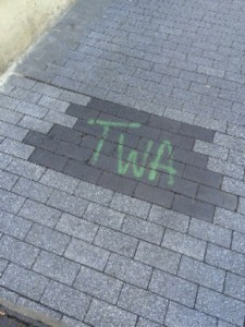TWA paving