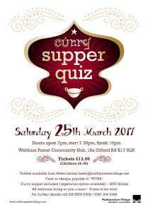 Curry Supper Quiz @ WF Community Hub (old Asian Centre) | England | United Kingdom