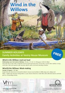 Wind in the Willows - read out loud @ Vestry House Museum | England | United Kingdom