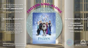 Frozen Sing-along @ Walthamstow Assembly Hall, | England | United Kingdom