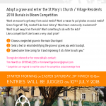 Burials in Bloom 2018 - Adopt a Grave competition @ St Mary's Churchyard | England | United Kingdom